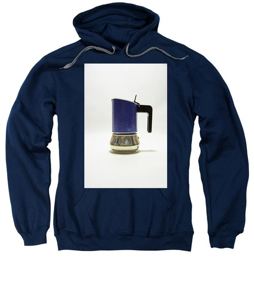 10-05-19 Studio. Blue Cafetiere Sweatshirt