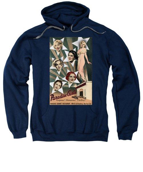 1943 Paradise Girls Cabaret Nyc Sweatshirt