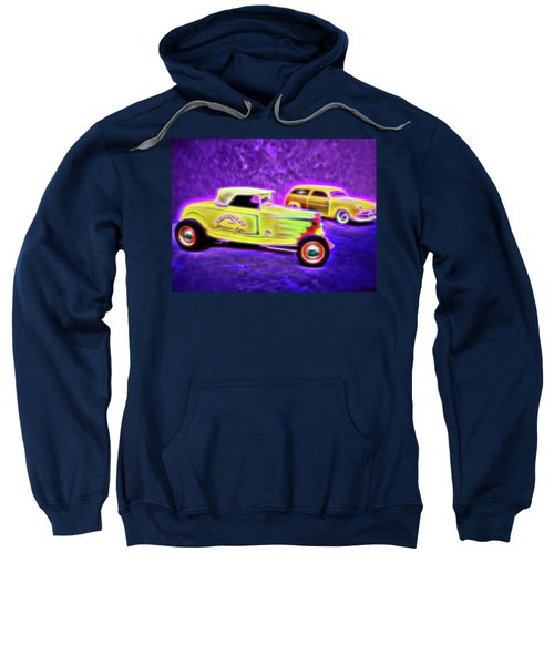 32 Roadster And 49 Woody Sweatshirt