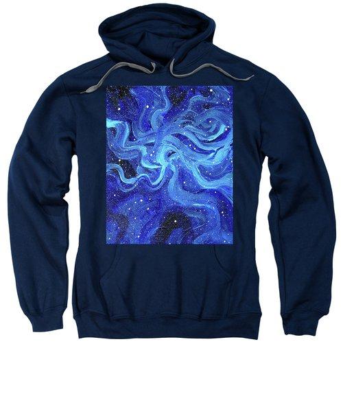 Acrylic Galaxy Painting Sweatshirt