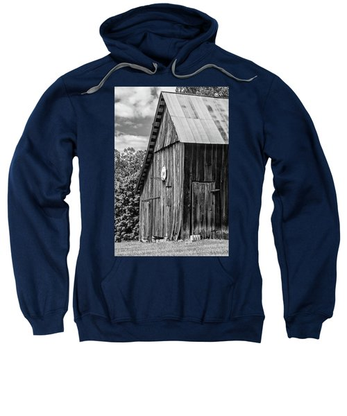 An American Barn Bw Sweatshirt