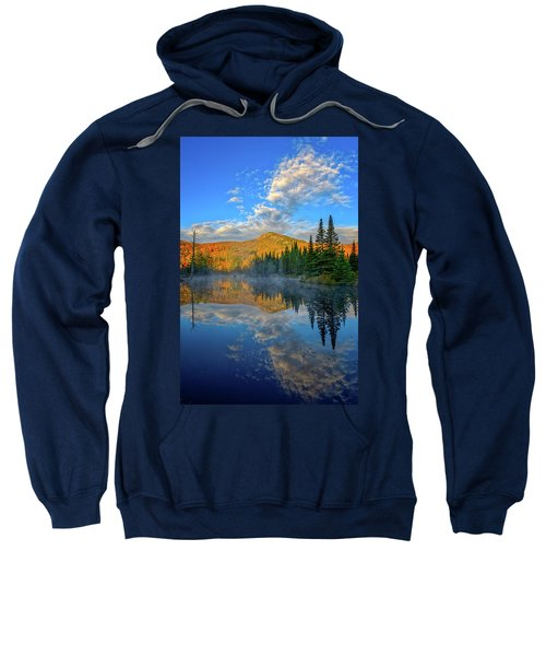 Autumn Sky, Mountain Pond Sweatshirt