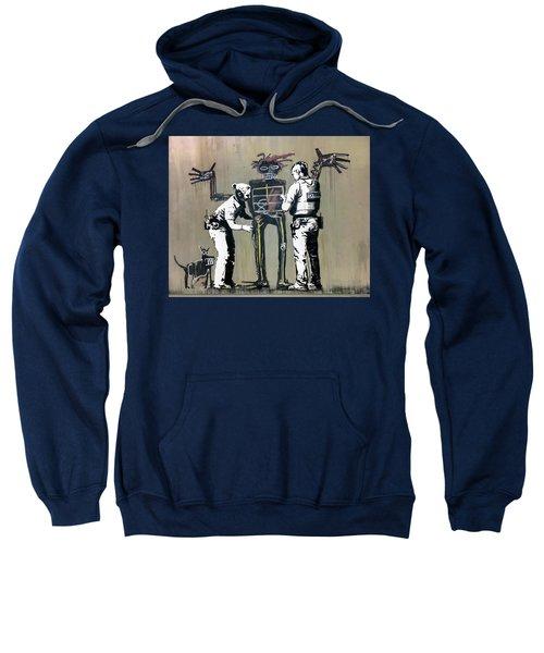 Banksy Coppers Pat Down Sweatshirt