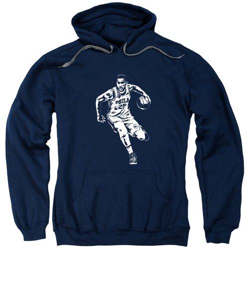 Ben Simmons Philadelphia 76ers T Shirt Apparel Pixel Art 2 Sweatshirt