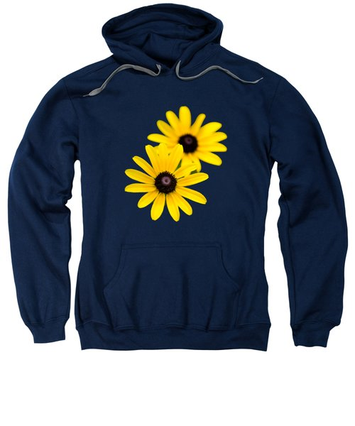 Sweatshirt featuring the photograph Black Eyed Susans by Christina Rollo