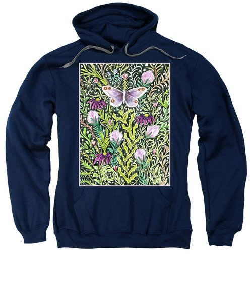 Butterfly Tapestry Design Sweatshirt