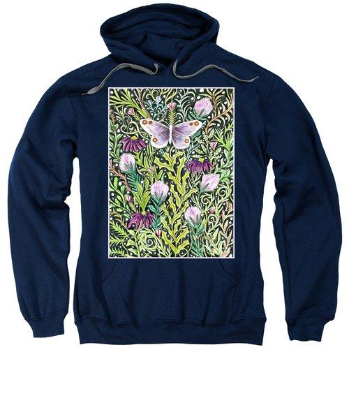 Butterfly Tapestry Design Sweatshirt