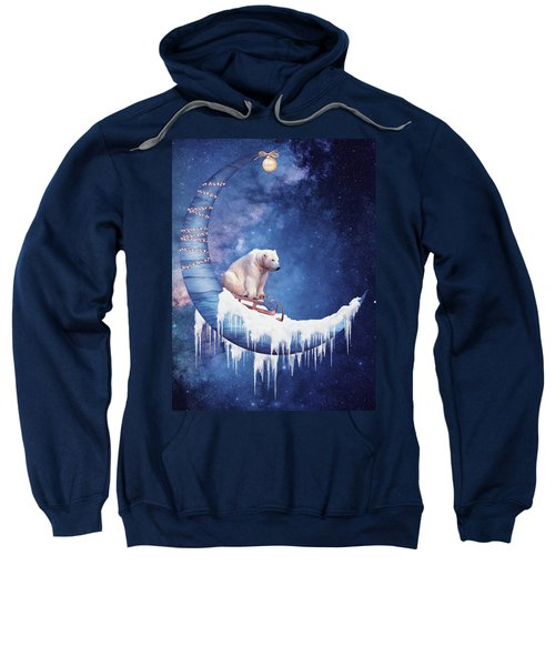 Christmas On The Moon Sweatshirt