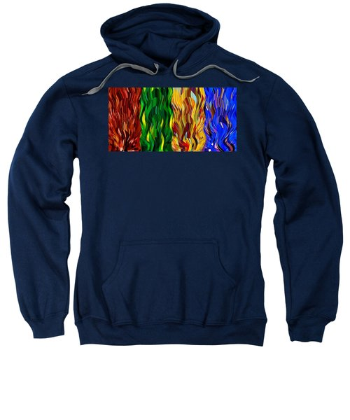 Colored Fire Sweatshirt