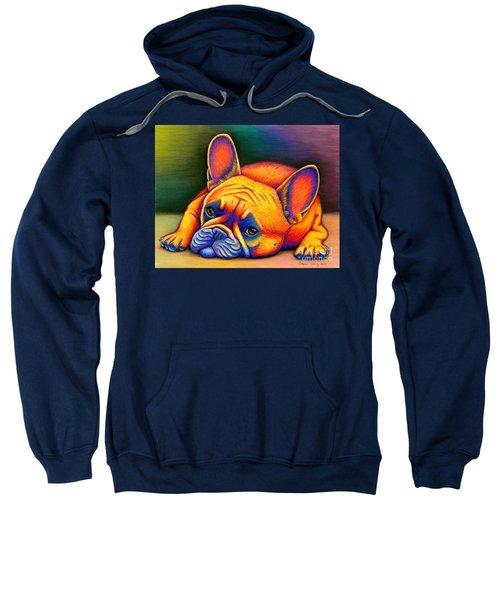 Daydreamer - Colorful French Bulldog Sweatshirt