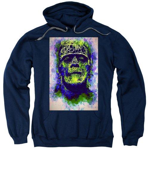 Frankenstein Watercolor Sweatshirt