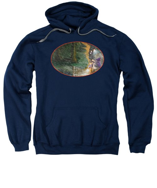 Crossing Timber Bridge Sweatshirt