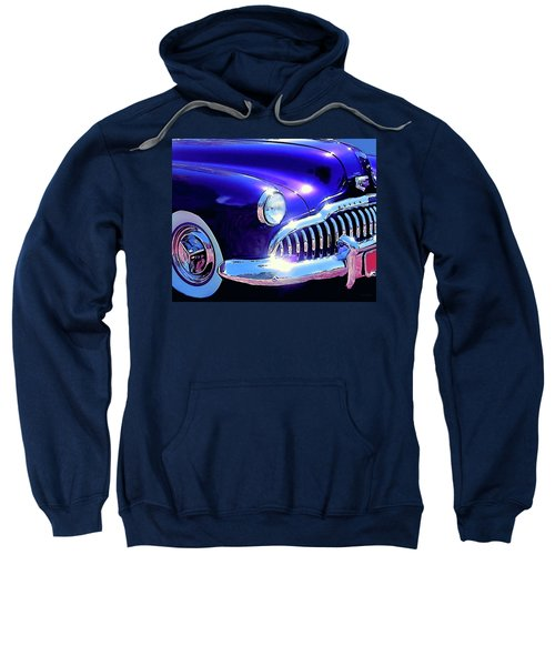 Custom 1949 Purple Buick Sweatshirt