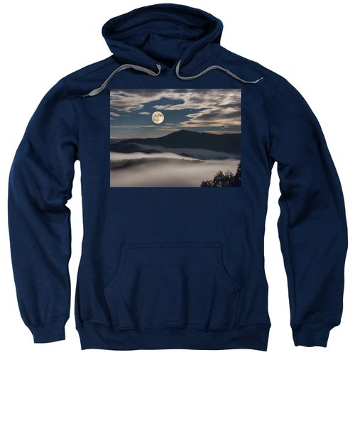 Dance Of Clouds And Moon Sweatshirt