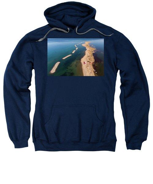 Dashed Line Sweatshirt