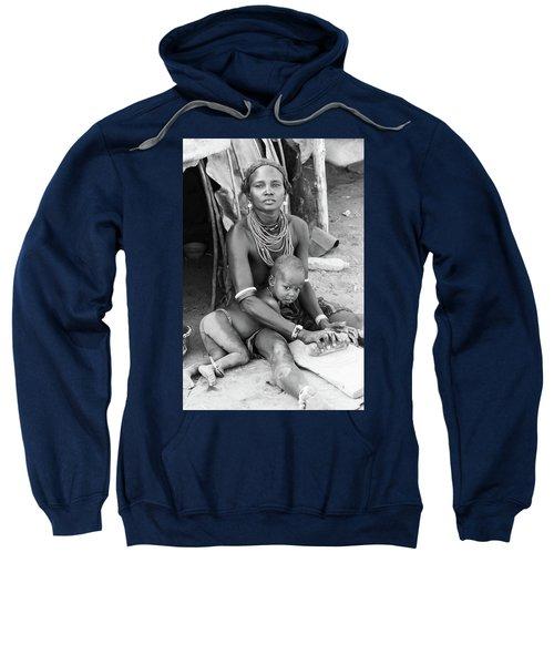 Dassanech Mother And Child Sweatshirt
