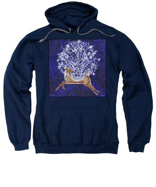 Fawn Bouquet Sweatshirt