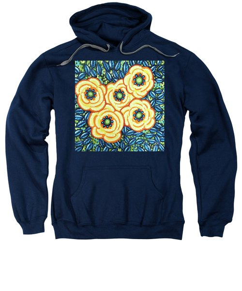 Floral Whimsy 7 Sweatshirt