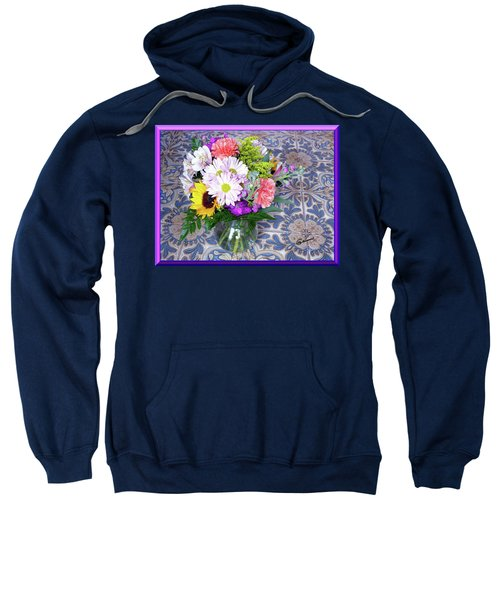 Flower Bouquet  Sweatshirt