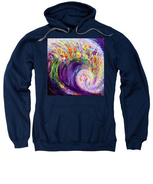 Flower Wave Sweatshirt