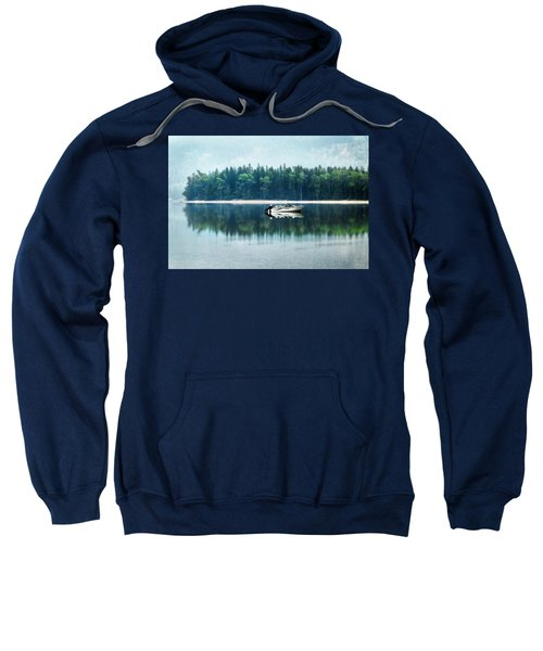 Glacier National Park Lake Reflections Sweatshirt