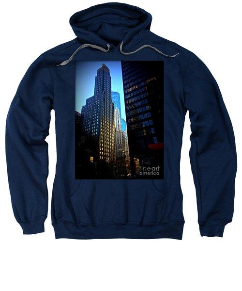 Golden Hour Reflections - City Of Chicago Sweatshirt