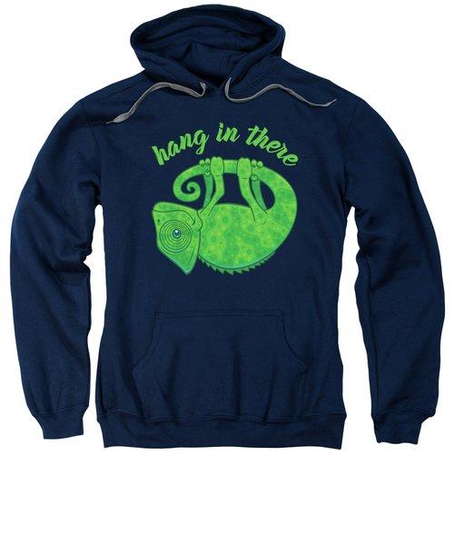 Hang In There Magical Chameleon Sweatshirt