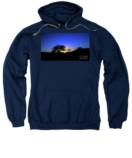 Last Light Texas Hill Country Paradise Canyon Sunset 8053a1 Sweatshirt