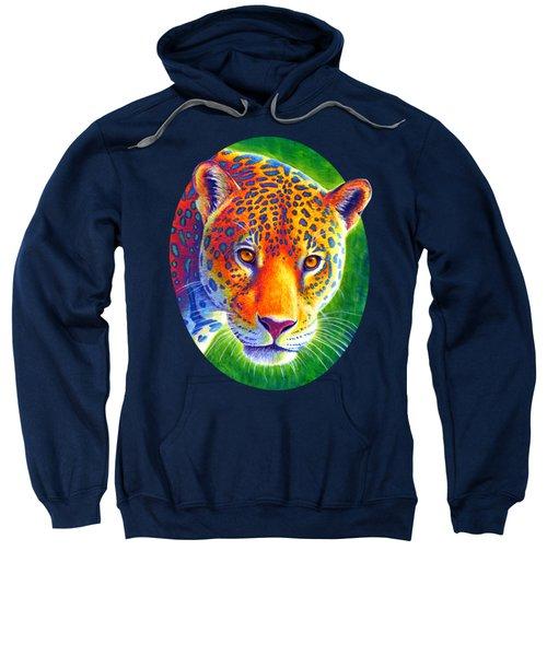 Light In The Rainforest - Jaguar Sweatshirt