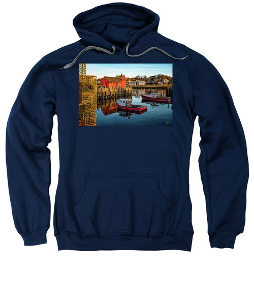 Lobster Traps, Lobster Boats, And Motif #1 Sweatshirt