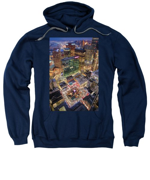 Market Square From Above  Sweatshirt