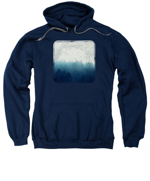 Misty Blue Forest Sweatshirt
