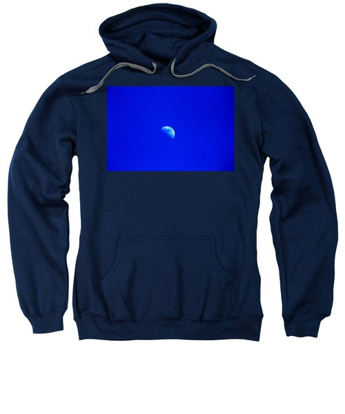 Moon In A Daytime Sky Sweatshirt
