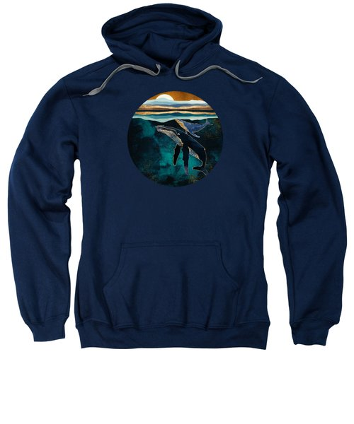 Moonlit Whales Sweatshirt