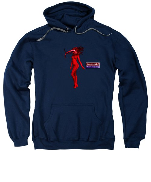 My Walking In My Shoes Girl 07 - Red Blue - Square Sweatshirt