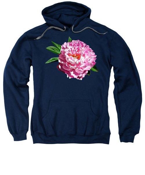 One Pale Pink Peony Sweatshirt