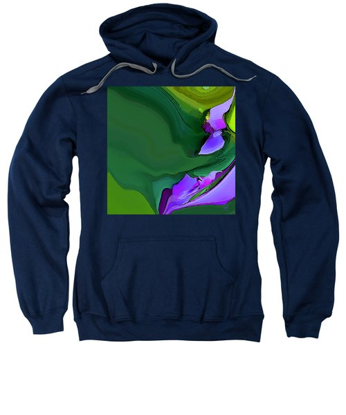 Orchids And Emeralds Sweatshirt