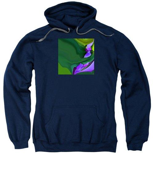 Orchids And Emeralds Sweatshirt