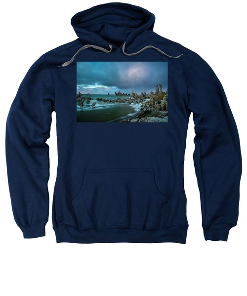 Passing Storm, Mono Lake Sweatshirt