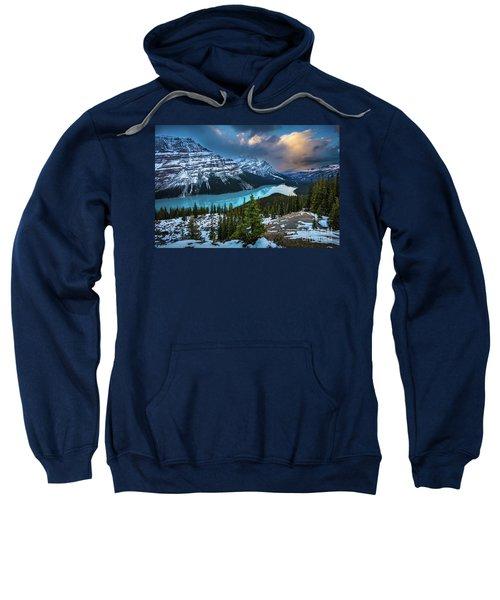 Peyto Lake Winter Sweatshirt