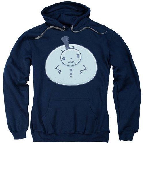 Pudgy Snowman Sweatshirt