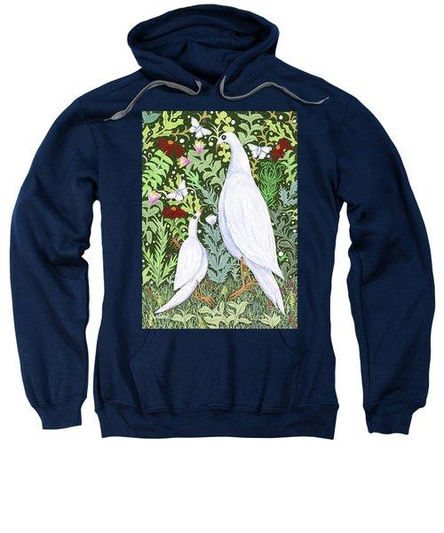 Sapientes Pacis Birds Sweatshirt