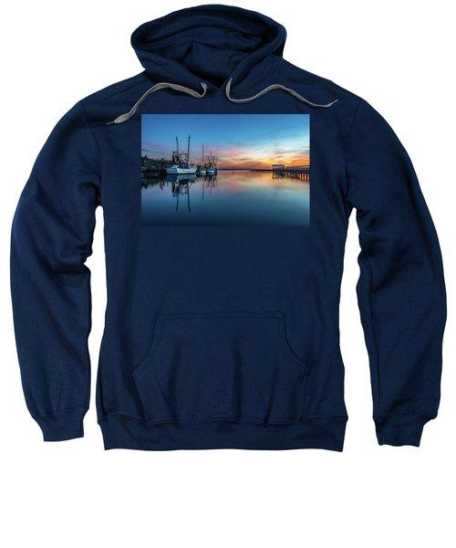 Shem Creek Blue Hour, Mt. Pleasant Sc Sweatshirt