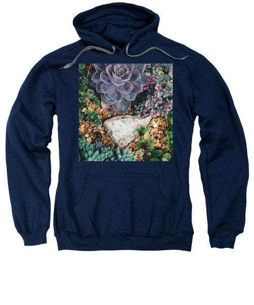 Small Succulent Garden Sweatshirt