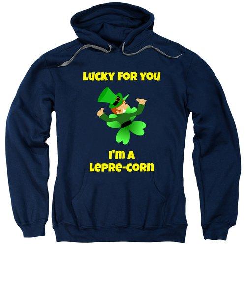 St  Patricks Day Lucky Leprechaun Sweatshirt