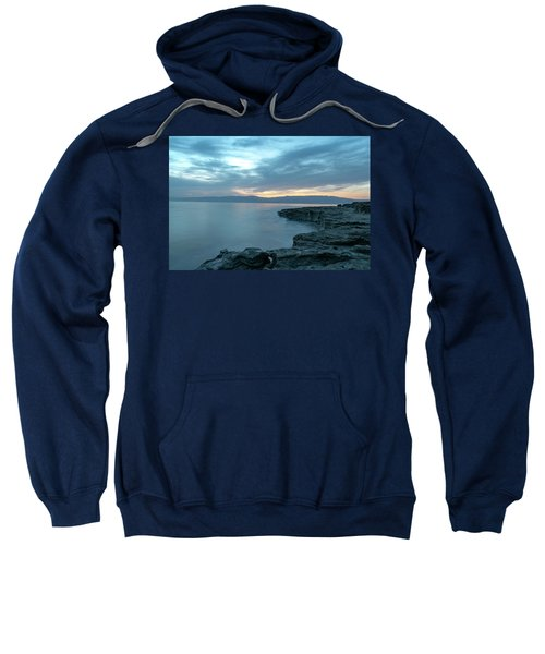 Before Dawn At The Dead Sea Sweatshirt