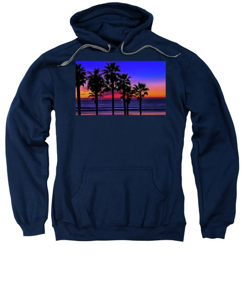 Sunset From The Ocean Park Inn Sweatshirt