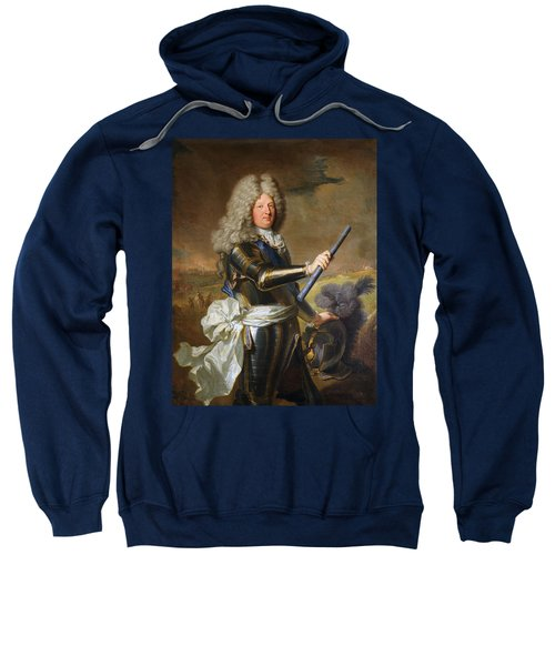 The Grand Dauphin - Louis De France Portrait Sweatshirt
