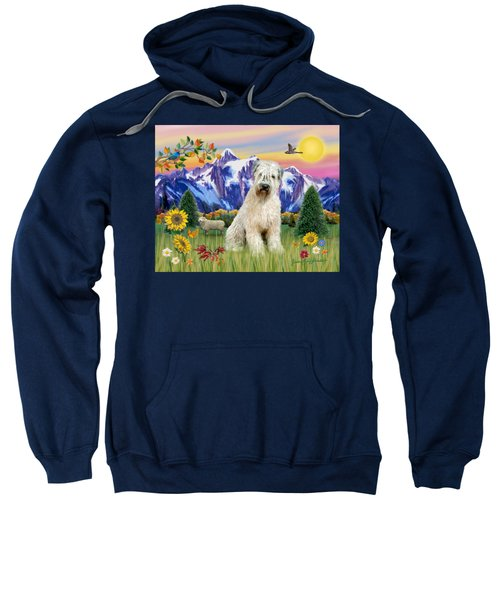 Wheaten Terrier In The Country Sweatshirt