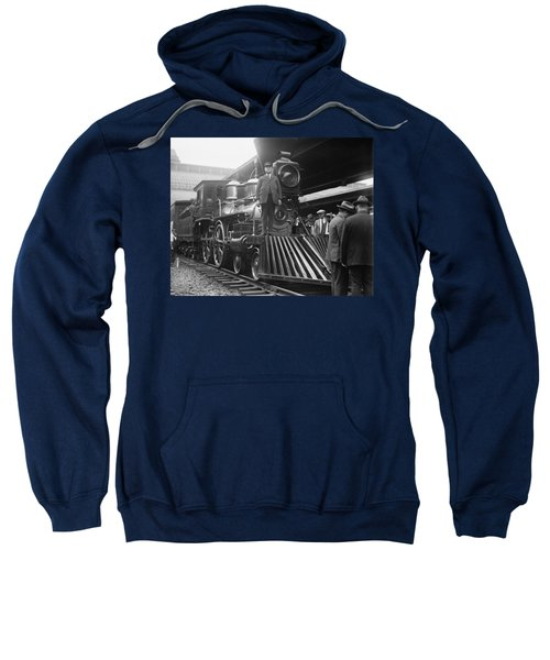 William Crooks 4-4-0 Steam Locomotive Sweatshirt